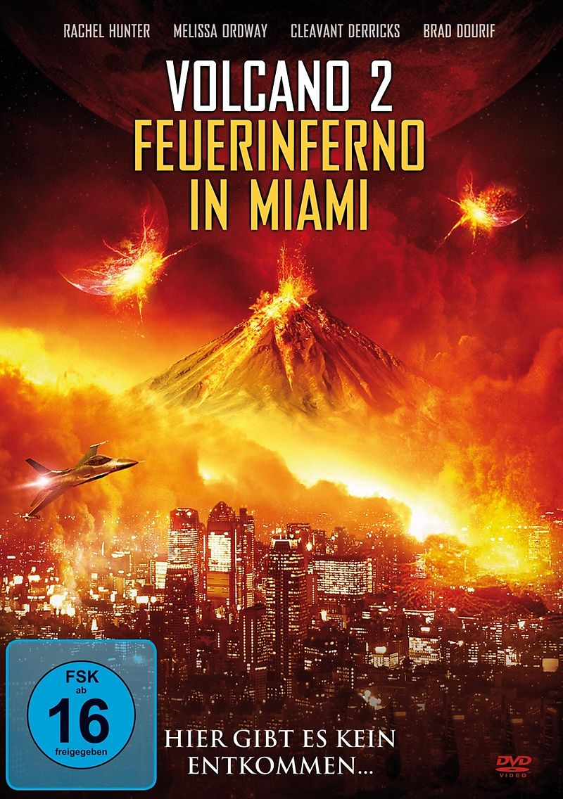 Volcano 2-Feuerinferno In Miami [Version allemande]