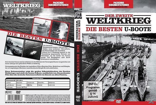 Der Zweite Weltkrieg-Die Besten U-Boote [Version allemande]