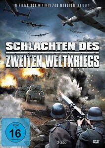 Schlachten des 2.Weltkriegs (Kriegsfilm Box) DVD-Box DVD