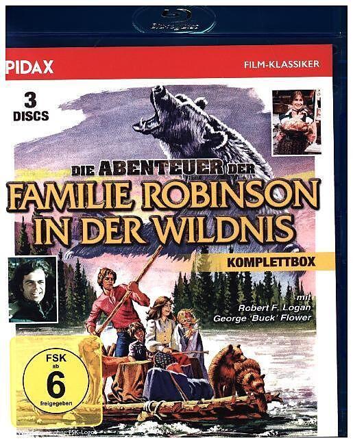 Die Abenteuer der Familie Robinson in der Wildnis [Version allemande]