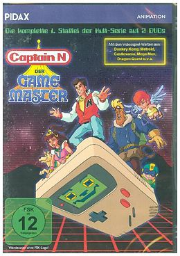 Captain N - Der Game Master - Pidax Animation / Staffel 1 [Version allemande]