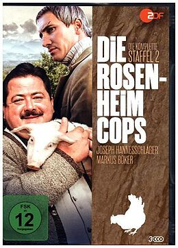 Die Rosenheim Cops - Staffel 02 DVD