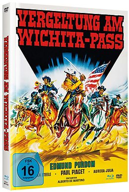 Vergeltung Am Wichita-pass - Mediabook B - Bd & Dv Blu-ray