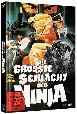Die Grösste Schlacht Der Ninja - Bd & Dvd Blu-ray
