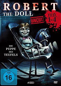 Robert The Doll 1-4 (uncut) - Deluxe Box DVD