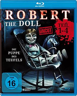 Robert The Doll 1-4 (uncut) - Deluxe Box Blu-ray