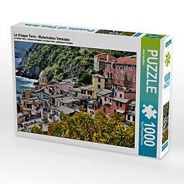 Le Cinque Terre - Malerisches Vernazza (Puzzle) Spiel