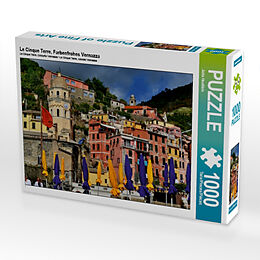 Le Cinque Terre, Farbenfrohes Vernazza (Puzzle) Spiel