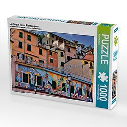 Le Cinque Terre, Riomaggiore (Puzzle) Spiel