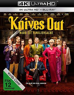 Knives Out - Mord ist Familiensache Blu-ray UHD 4K + Blu-ray