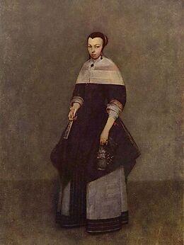 Gerard ter Borch d. J. - Porträt einer Dame - 1.000 Teile (Puzzle) Spiel
