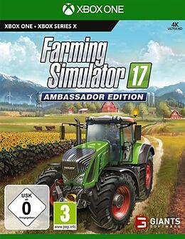 Farming Simulator 17 - Ambassador Edition [XSX/XONE] (D/F/I) comme un jeu Xbox One