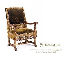 Hommages-Franz.Musik für Gambe und Cemba