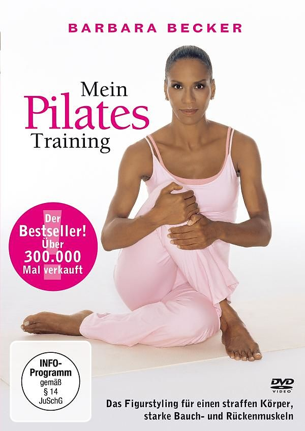 barbara becker mein pilates training dvd online kaufen. Black Bedroom Furniture Sets. Home Design Ideas