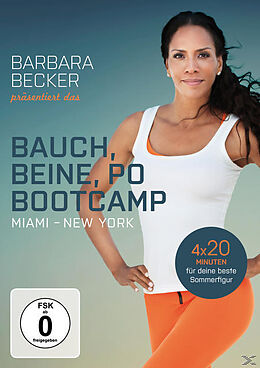 barbara becker pr sentiert das bauch beine po bootcamp miami new york dvd online kaufen. Black Bedroom Furniture Sets. Home Design Ideas