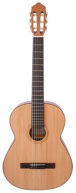 Instrumente+Zubehör Konzertgitarre Modell KG-2000 Grösse 4/4 offenporig