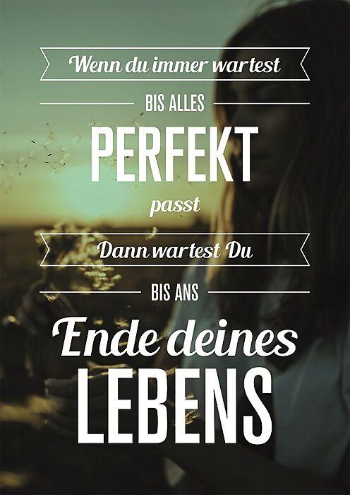 alles ist perfekt