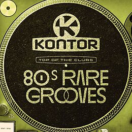 Various Artists CD Kontor Top Of The Clubs-80s Rare Grooves