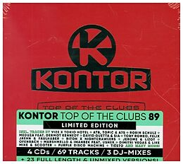 Various Artists CD Kontor Top Of The Clubs Vol.89