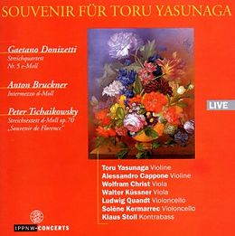Yasunaga/Cappone/Christ/Küssne CD Donizetti-Bruckner-Tschaikowsky