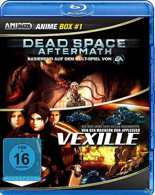 Anime Box 1: Dead Space Aftermath, Vexille [Versione tedesca]