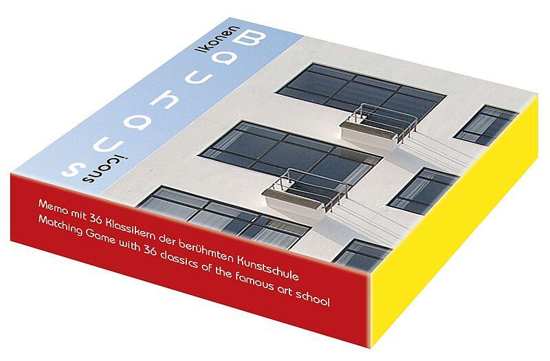 Bauhaus Ikonen Bauhaus Icons Memo Spiel Online Bestellen Ex