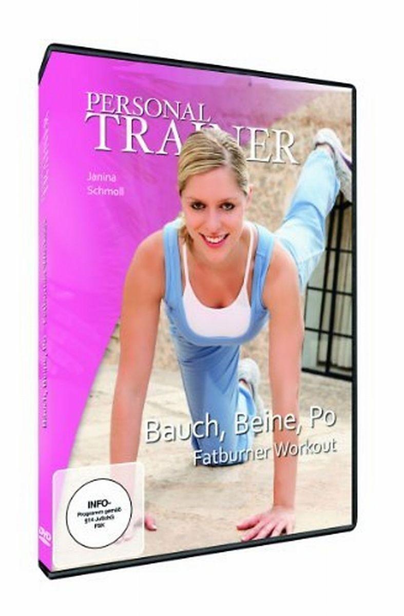 personal trainer bauch beine po fatburner workout dvd online kaufen. Black Bedroom Furniture Sets. Home Design Ideas