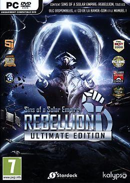 Sins of a Solar Empire : Rebellion - Ultimate Edition [DVD] [PC] (F) comme un jeu Windows PC