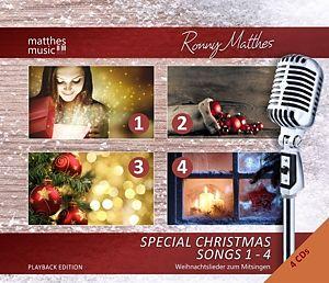 Special Christmas Songs (1-4)-Playback/Karaoke