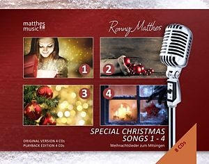 Special Christmas Songs (1-4) Inkl.Karaoke Cds