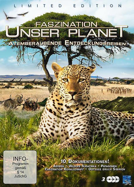 Faszination Unser Planet - Atemberaubende Entdeckungsreisen [Version allemande]