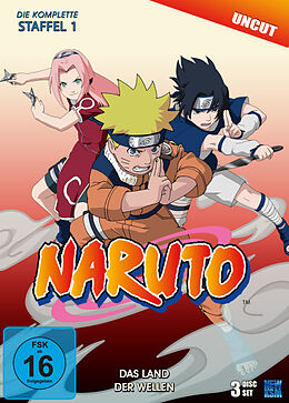 Naruto - Staffel 01 / Das Land der Wellen DVD
