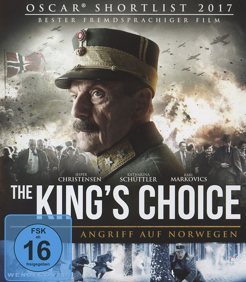 The King's Choice - Angriff Auf Norwegen - auf Blu-ray ...  The King's ...