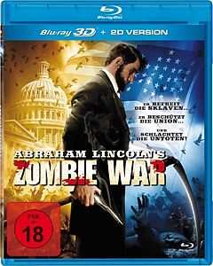 BLU-RAY 3D/2D Abraham Lincoln's Zombie War