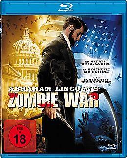 Abraham Lincoln's Zombie War Blu-ray