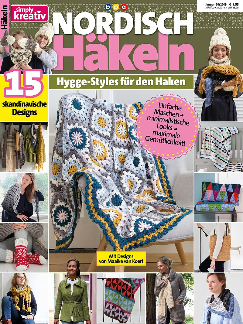 Simply Kreativ Nordisch Häkeln Maaike Van Koert Buch Kaufen