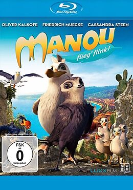 Manou - flieg flink! Blu-ray