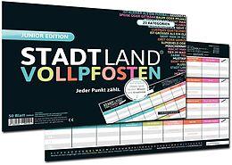 STADT LAND VOLLPFOSTEN® - JUNIOR EDITION - Für Kinder und Jugendliche Spiel