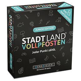 DENKRIESEN - STADT LAND VOLLPFOSTEN - Das Kartenspiel - Junior Edition Spiel
