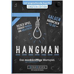 """HANGMAN - EINSTEIN EDITION - """"Galgenmännchen TO GO"""" Spiel"""