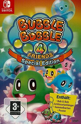 Bubble Bobble 4 Friends - Special Edition [NSW] (D) als Nintendo Switch-Spiel