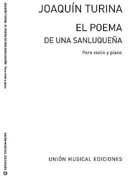 Alberto Iglesias Notenblätter El poema de una Sanluquena