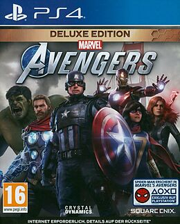 Marvel's Avengers - Deluxe Edition [PS4/Upgrade to PS5] (D) als PlayStation 4, PlayStation 5,-Spiel