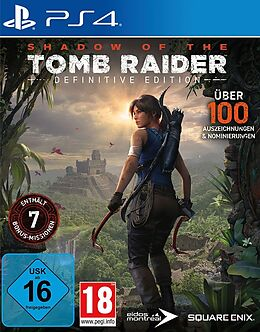 Shadow of the Tomb Raider Definitive Edition [PS4] (D) als PlayStation 4-Spiel