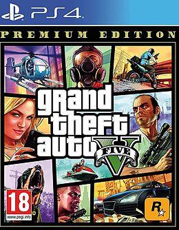 GTA V Premium Edition [PS4] (D) als PlayStation 4-Spiel