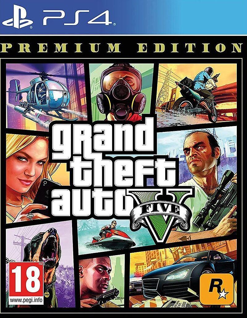 GTA V Premium Edition [PS4] (D)