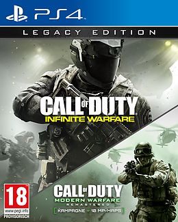 Call of Duty: Infinite Warfare - Legacy Edition inkl. Terminal [PS4] (D) als PlayStation 4-Spiel
