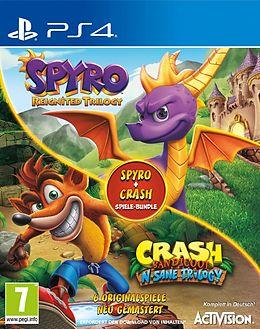 Spyro + Crash Remastered Spiele Bundle [PS4] (D) als PlayStation 4-Spiel