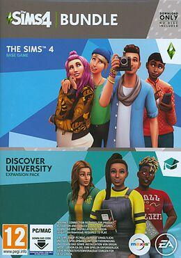 The Sims 4 Discover University Bundle [PC/Mac] [Code in a Box] (D/F/I) comme un jeu Mac OS, Windows PC