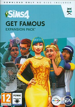 The Sims 4 Get Famous - Expansion Pack 6 [PC/Mac] [Code in a Box] (D/F/I) comme un jeu Windows PC, Mac OS